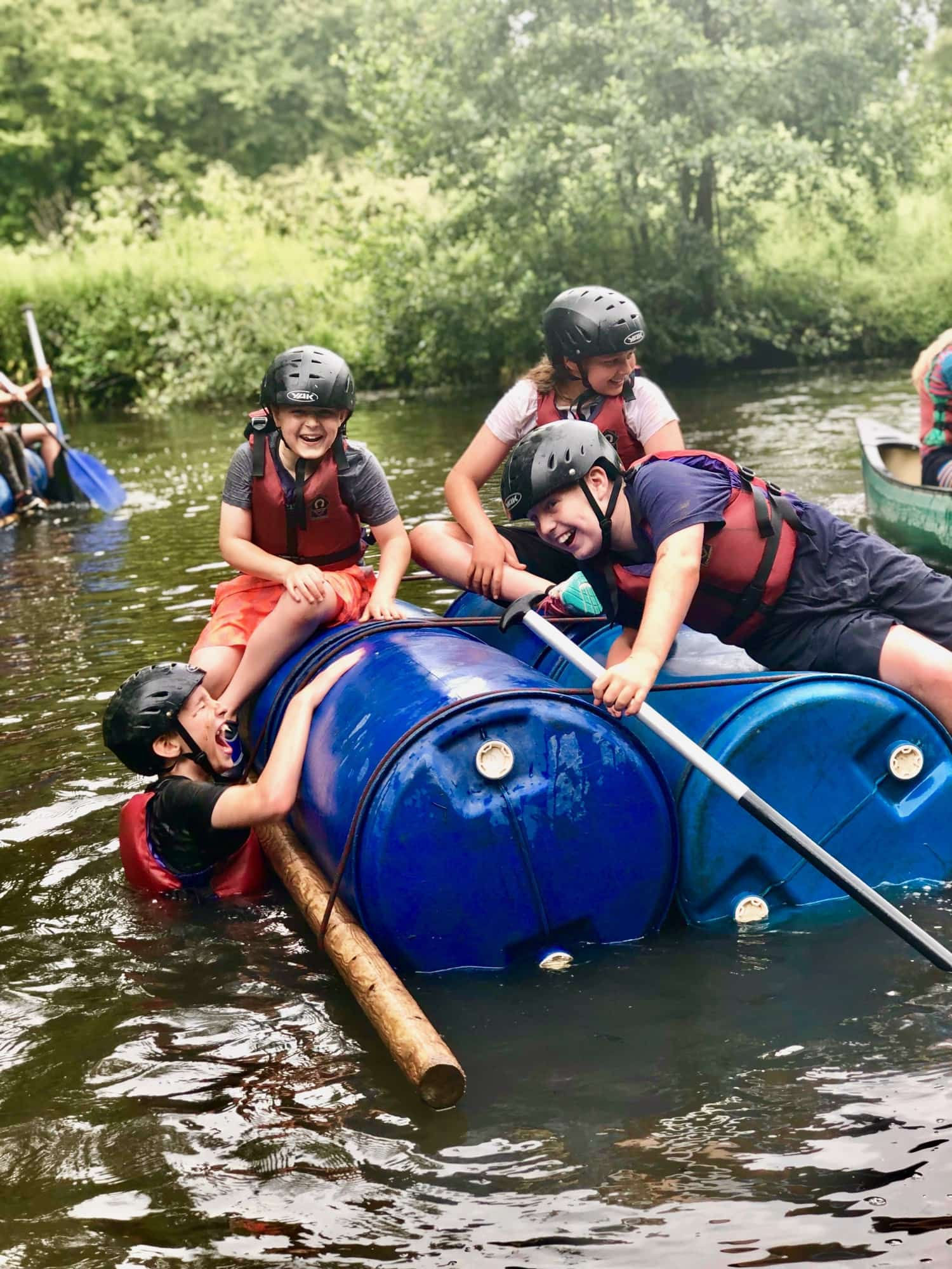 raft building active